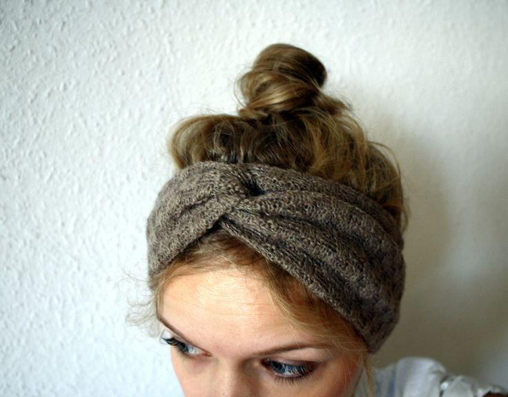 kuschliges Stirnband Turban vintagelook  von dezent auf DaWanda.com