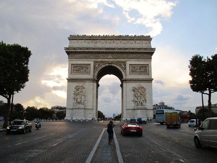 jul2013 Arc de Triomphe #jiaxintravels