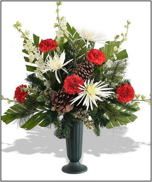 17 best decoration for the cemetery images on pinterest cemetery winter flower arrangements for cemetery mightylinksfo