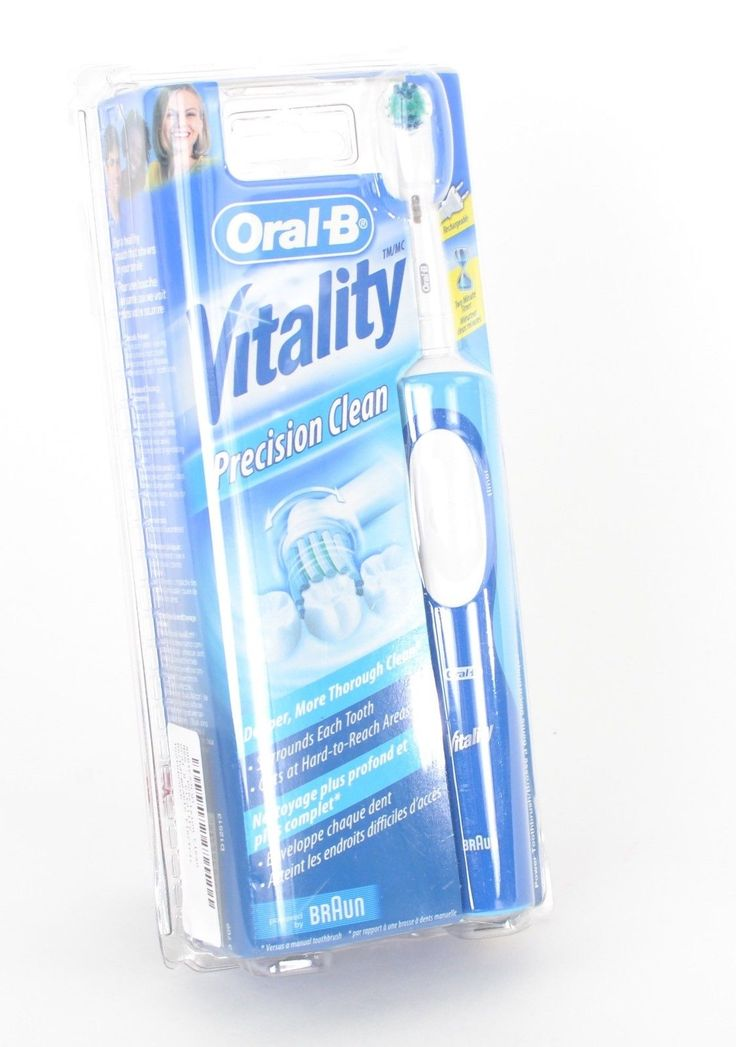 Oral-B Vitality Braun 3703 Electric Toothbrush Discountinued Model B6
