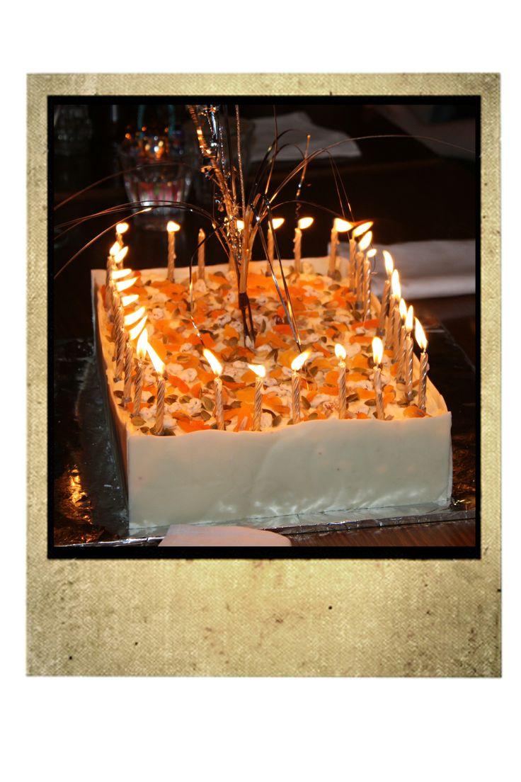 LJ's 30th Carrot Cake.