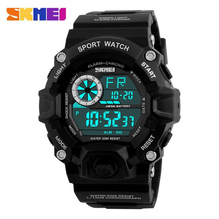 Fashionable and luxury millitary style Casual Sports Watch for  Men