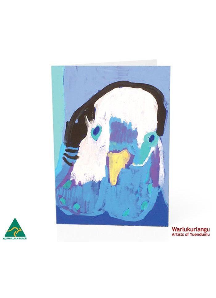 Birds of Yuendumu  Art Card -  Face (B)