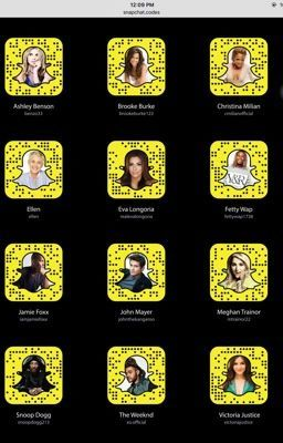 #wattpad #random Celebrity snapchat users