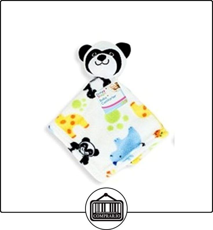 Manta para bebé con peluche [-] Niñas Niños bebés recién nacidos Regalos [Pato Panda Perros y Gatos] blanco roto Panda  ✿ Regalos para recién nacidos - Bebes ✿