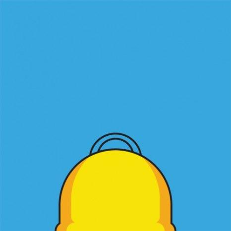 Chauves célèbres / Notorious baldies : homer simpson