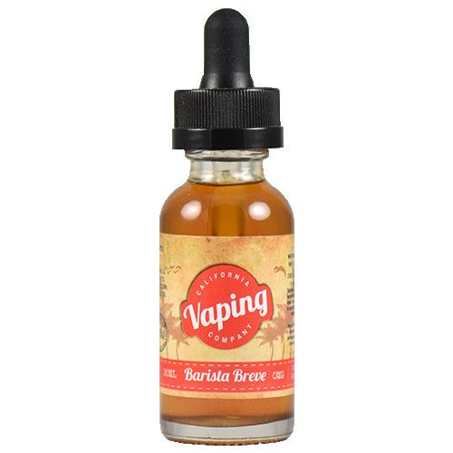 Barista Breve by California Vaping Company - No grinders, measuring spoons or coffee makers required! Speed up your morning routine with this caffeinated eliquid that gets its flavor from organic coffee and vanilla beans.60% VG