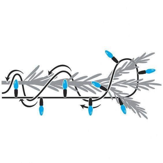 25+ unique Christmas string lights ideas on Pinterest