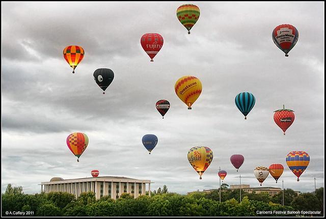 Canberra Festival Balloon Spectacular by acaffery, via Flickr