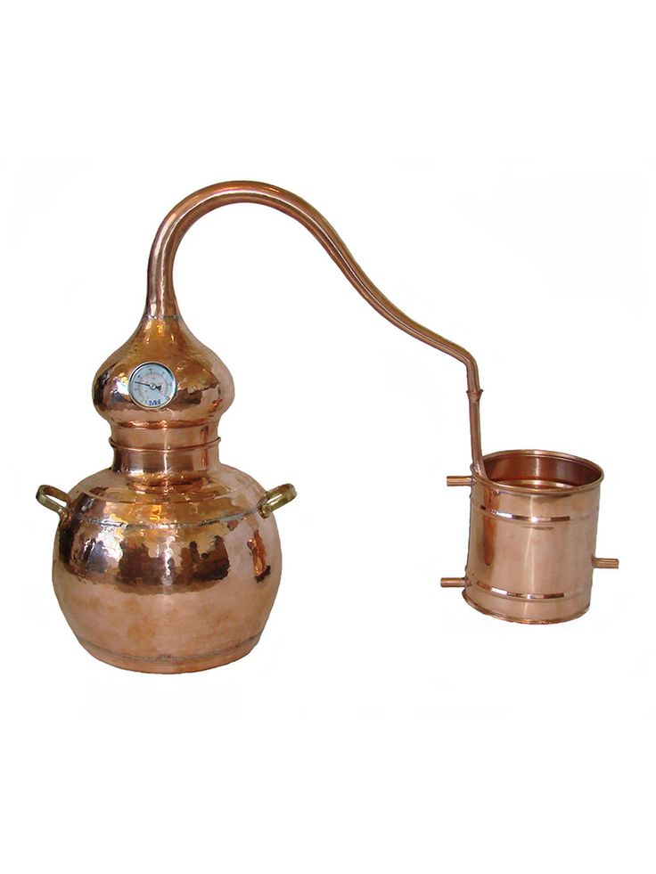 Alembic Copper Still 1.3 gallon (5 liter) When our customers began requesting an all copper moonshine still we did our research and found this quality item made by a small European factory that has been producing copper stills in the tradtional way for hundreds of years.   These gorgeous copper alembic stills provide excellent alcohol production and are …