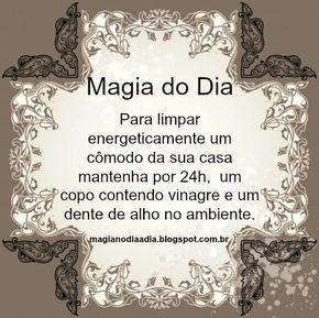 Magia no Dia a Dia: Magia do Dia: alho e vinagre  http://magianodiaadia.blogspot.com.br/2017/01/magia-do-dia-alho-e-vinagre.html