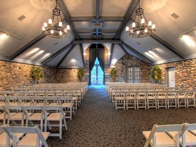 Castle Farms Indoor Chapel Charlevoix Michigan Cierras Wedding Venue
