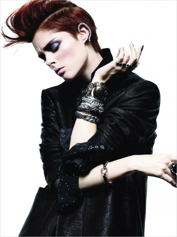Moo King Captures Coco Rocha for Dressed to Kill Winter 2013-14 #avrillavigne trendhunter.com