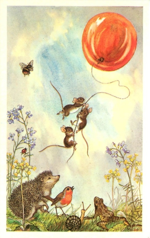 Reminder of my childhood - and one of my favorite book illustrations :Molly Brett