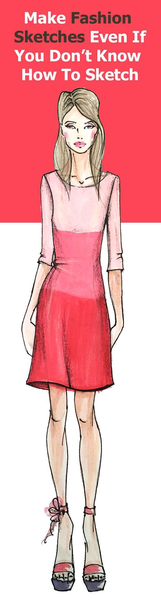 Lear how to make fashion design sketches step by step quickly with this fashion illustration tutorial and free fashion templates downloads. let's go!
