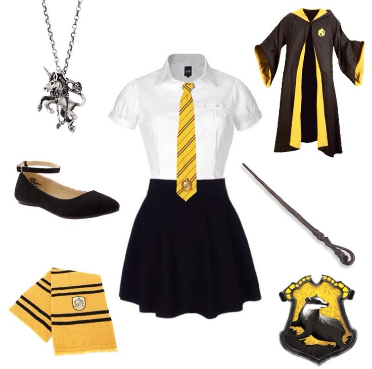 Hufflepuff uniform