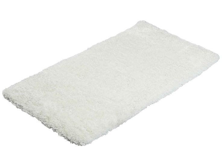 Carpette 60x115 cm WINTER coloris blanc - Vente de Tapis - Conforama