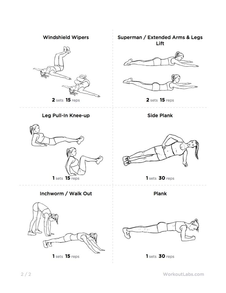 Workout For A Flat Stomach Click The Pin To See The Other Half Of The
