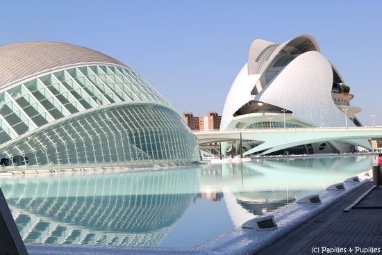 Valencia, Spain. The Arts and Science buildings in this city are so cool!