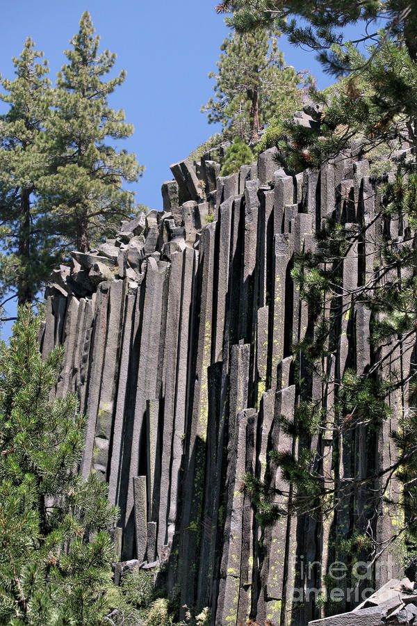 Devils Postpile National Monument - Mammoth Lakes - East California