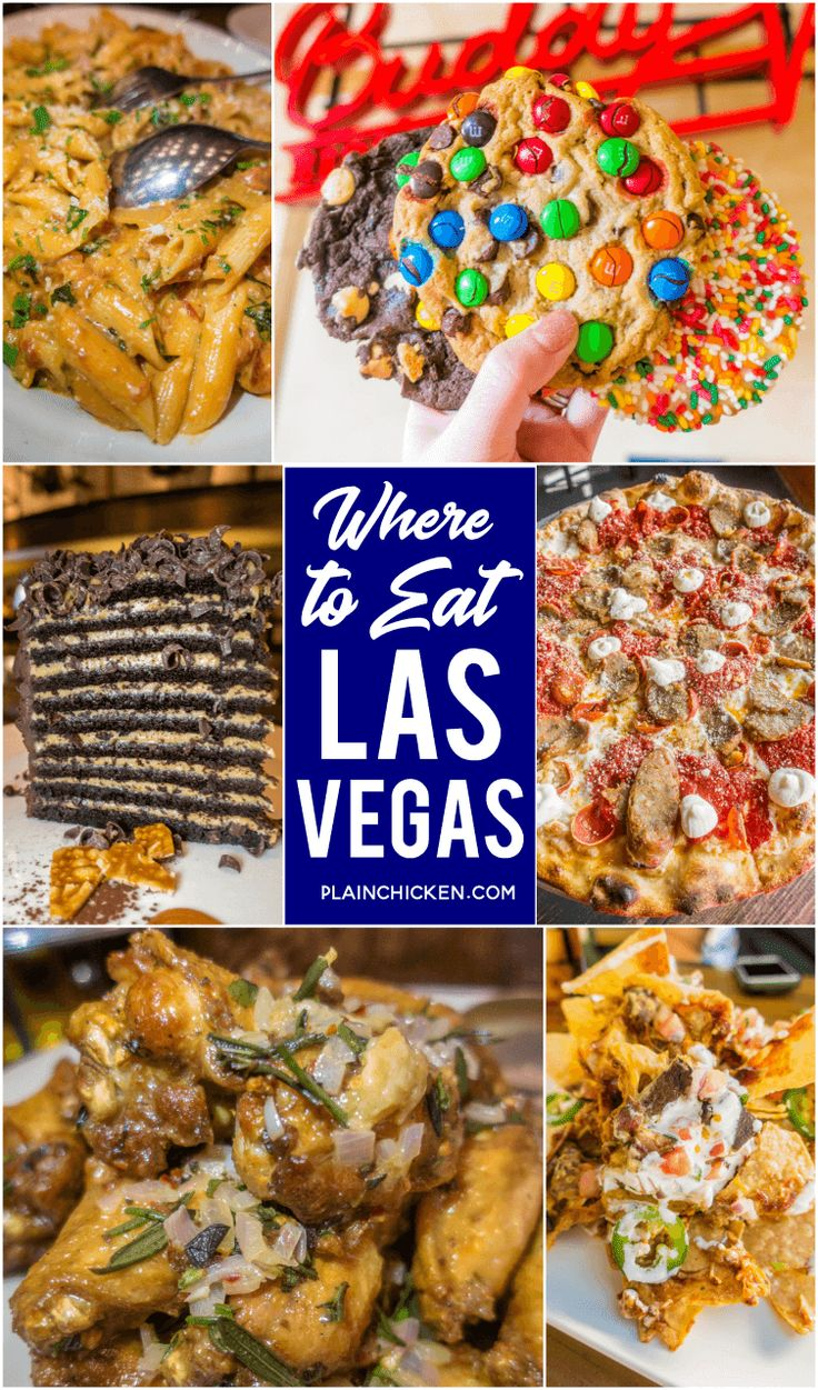 Where to Eat in Las Vegas - great options on and off the strip. Buddy V's, 20 layer chocolate cake at Lavo, Pizza Rock, Bavette's Park MGM, Grimaldi's, Carnevino, Carmine's and Charlie's Bar and Grill. Something for everyone! #lasvegas #travel #wheretoeat