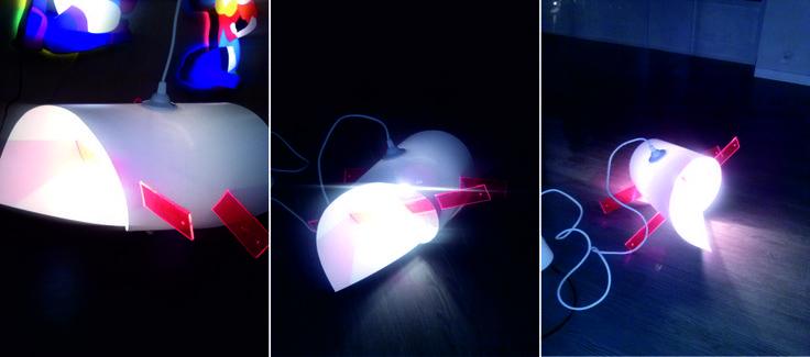 """""""SanSebastian"""" Orange arrows & one lamp"""