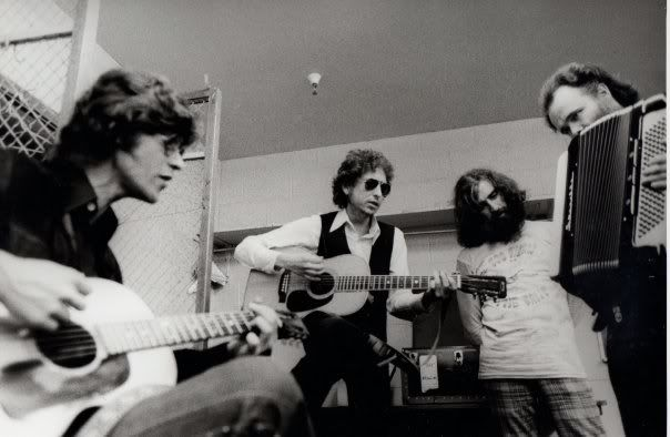 Robbie Robertson, Bob Dylan Richard Manuel, Garth Hudson 1974 Photo Gallery 12