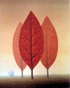 """Magritte """"Princes of Autumn"""""""