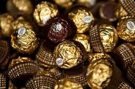 Ferrero Rocher   The chocolate I will never get sick of. If I could - this would constitute my daily diet! It is truly the ultimate!
