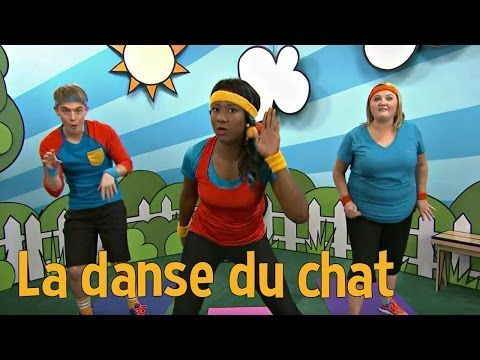 La danse des animaux : La danse du chat - YouTube