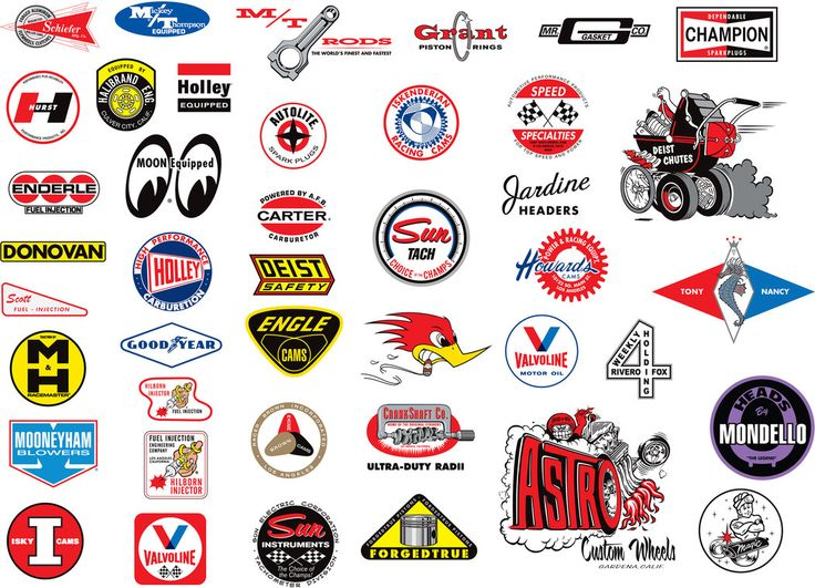 Best Vintage Racing Logos And Decals Images On Pinterest