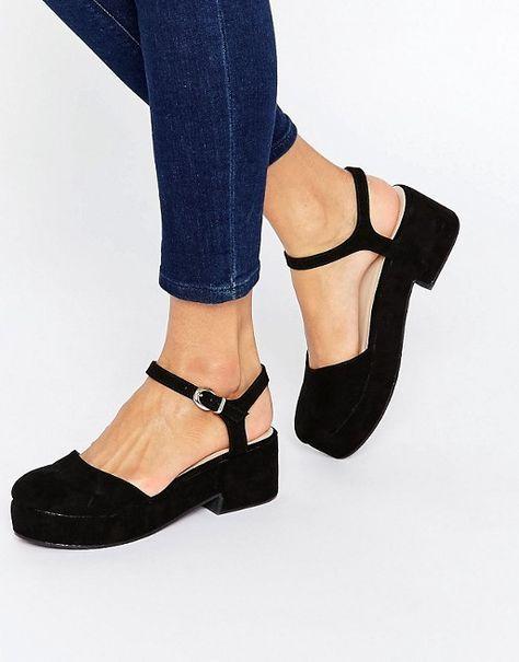 ASOS | Zapatos con plataforma plana OPAL de ASOS Más