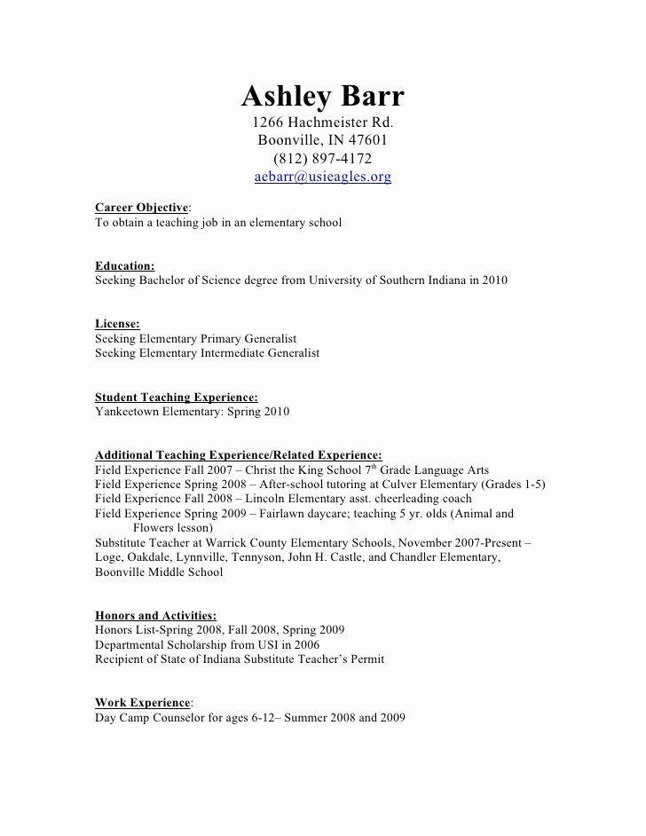 23 Substitute Teacher Job Description Resume In 2020