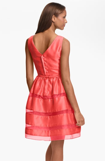 Bridesmaid dresses. Taylor Dresses Tonal Stripe Fit & Flare Dress | Nordstrom