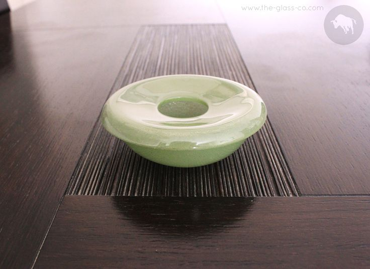 Handmade Glass Windproof Ashtray Designed by www.the-glass-co.com ● Code: RM-09-25 ➡ Contact us at info@myglassstudio.com