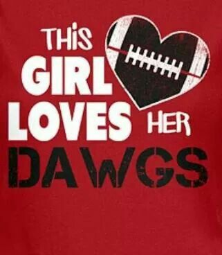 THIS GIRL LOVES HER DAWGS