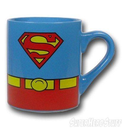 Images of Superman Costume Mug