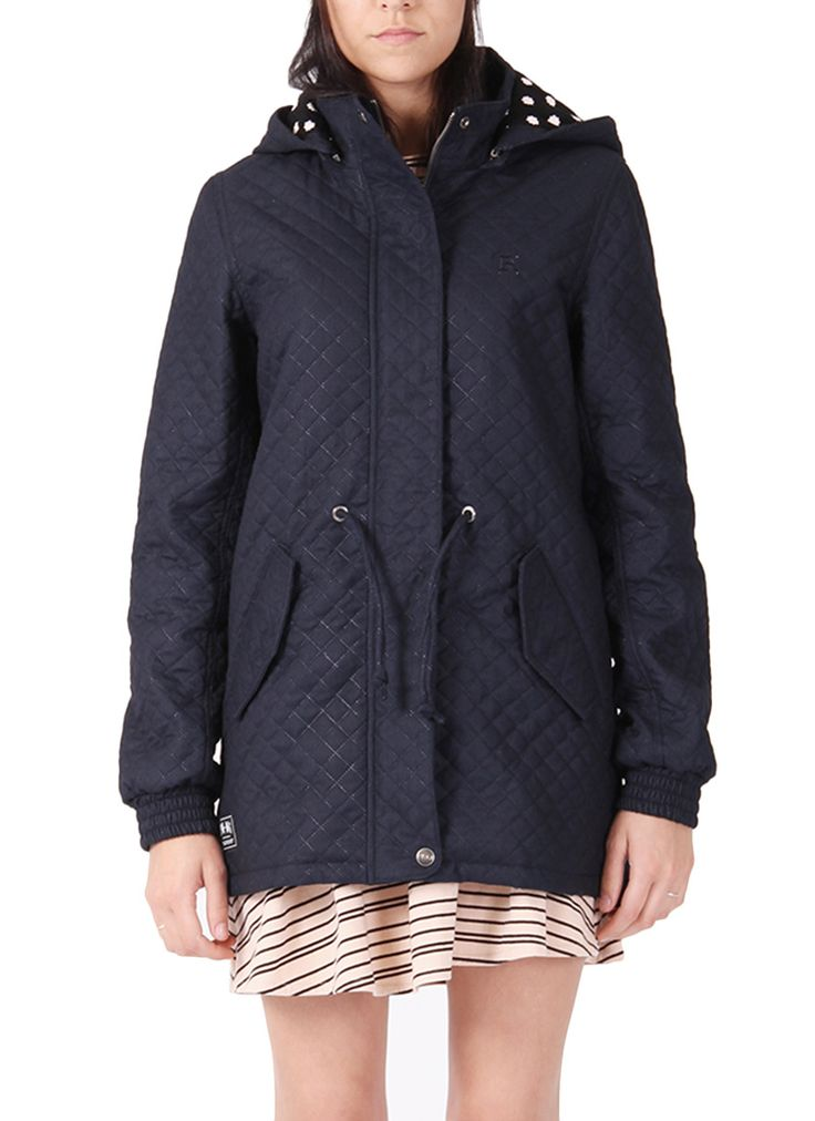 Rpm lizzy Anorak - Navy | Buy Online at Mode.co.nz
