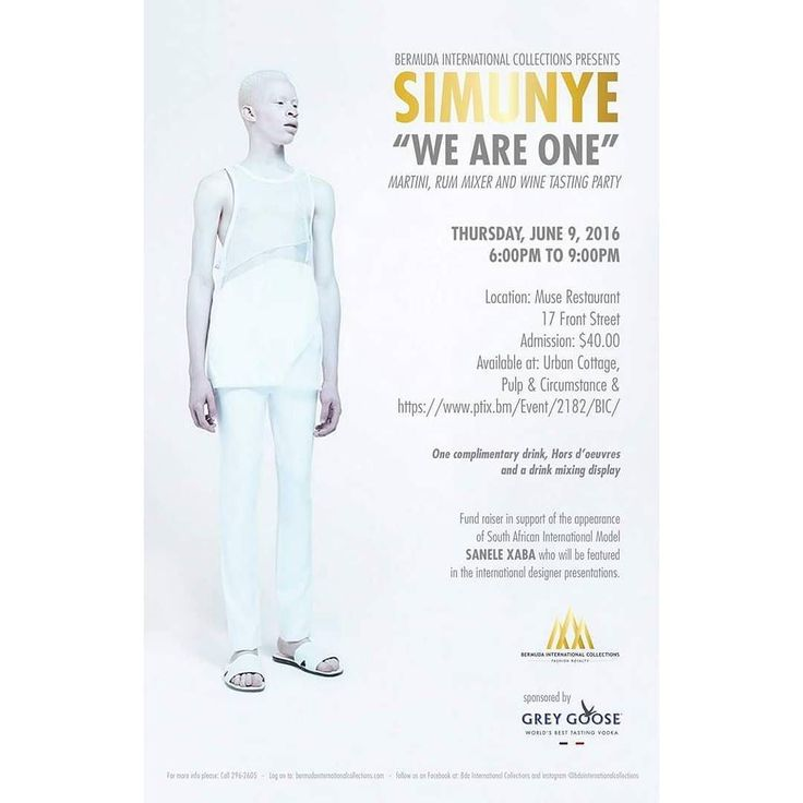 """Bermuda International Collections presents Simunye """"We are One"""" African inspired Martini Rum Mixer & Wine Tasting Thursday June 9 2016 at Muse Restaurant sponsored by Grey Goose (Tickets available via link in bio) #event #wine #rum #greygoose #mixer #africa #model #bermuda #wearebermuda #l4l #f4f #fashionroyalty #fashion #fashionweek by bdainternationalcollections"""