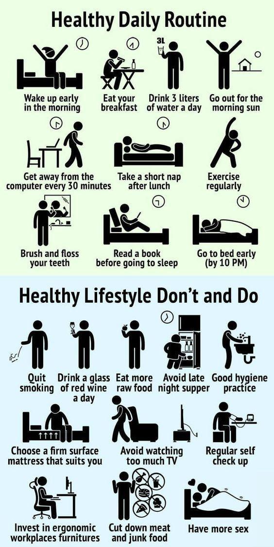 10 Healthy habits women, men, kids should add to t…