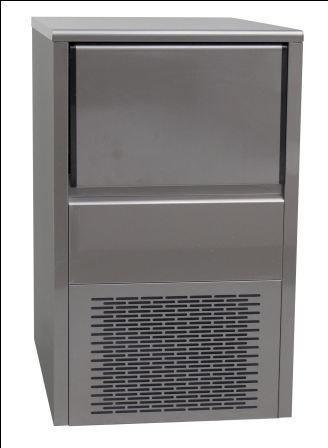 Ijsblokjesmachine lucht of watergekoeld productie 35 kg opslagcapaciteit 15 kg 400 w prijs 1 - Keuken ontwerp lineaire ...