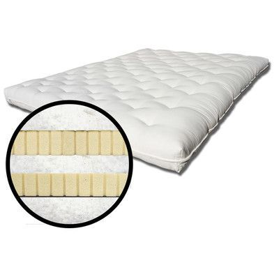 "The Futon Shop Organic 8"" Latex Futon Mattress Size:"