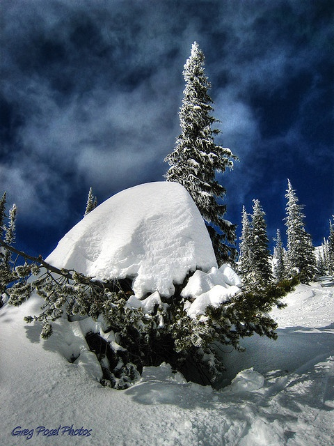 Snow Dome, Big White Canada via Flickr.