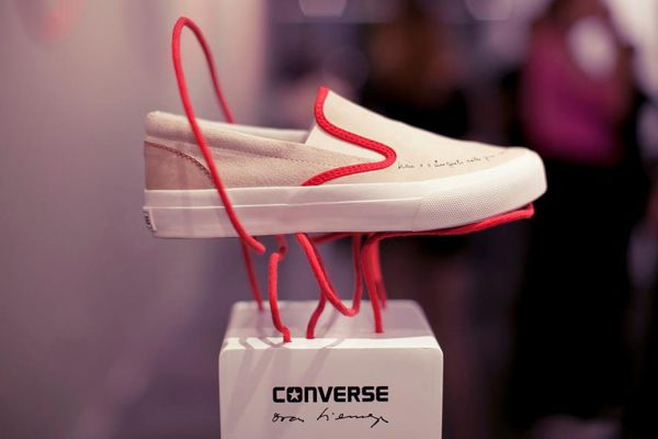 Display for Converse Oscar Niemeyer collection by That Design Company, via Behance