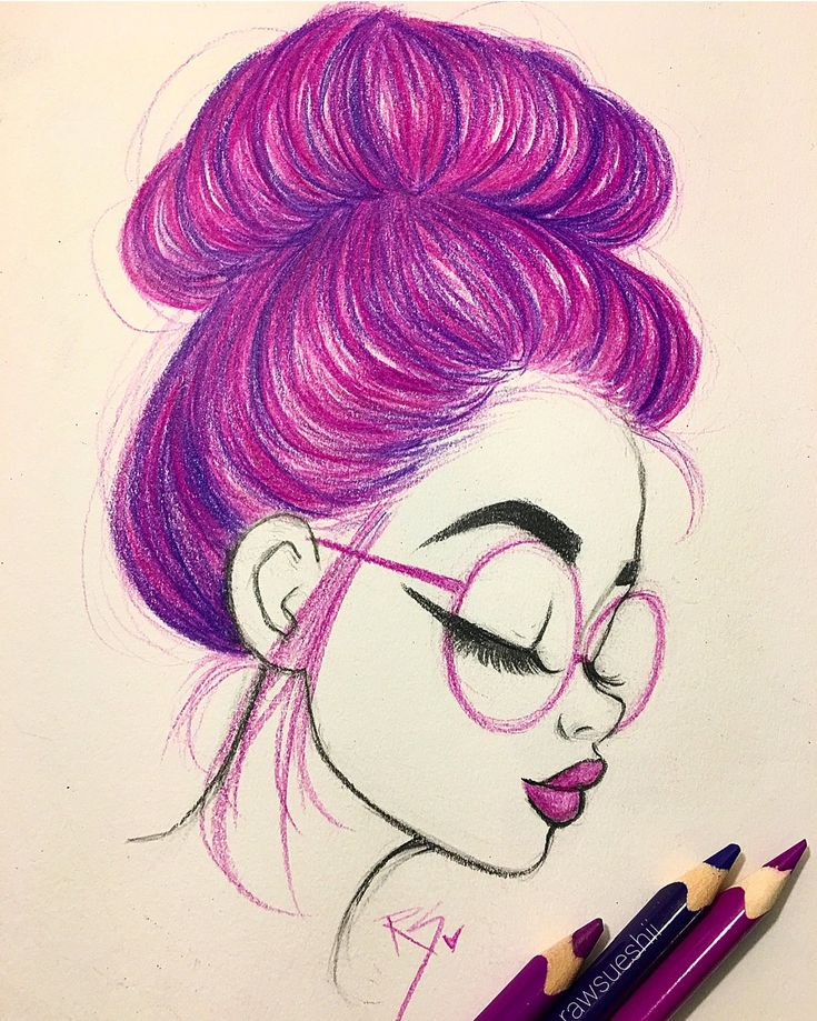 Learn How to Draw Hair in a Bun with Christina Lorre'