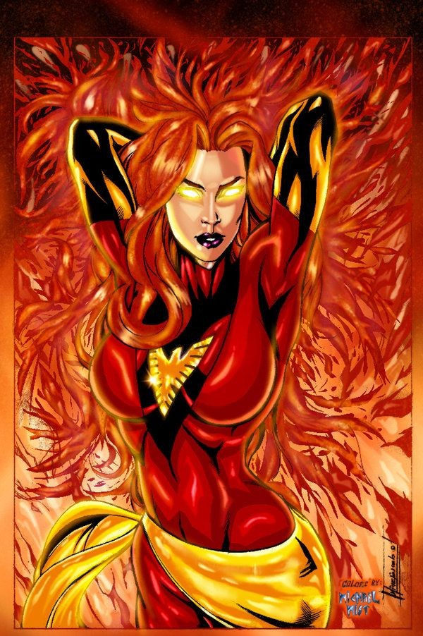 The phoenix force is coming., no one can ever control the phoenix force, i'm back !!! Cyclops, Colosus, Emma Frost and Phoenix in their phoenix force costume... its really hard to find the stock bu...