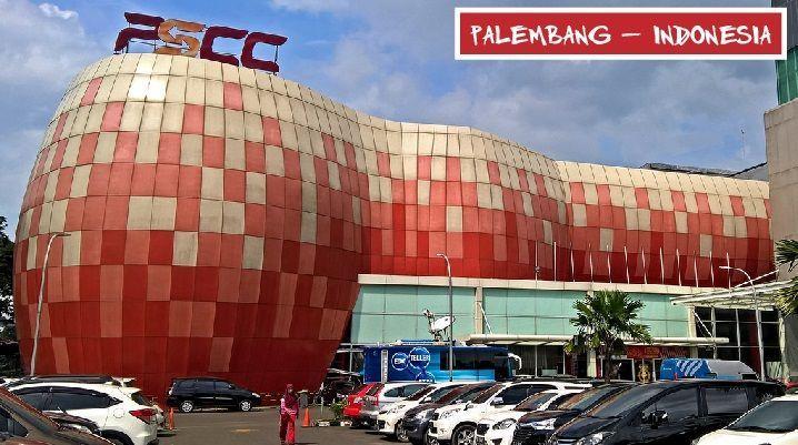 Palembang Sport and Convention Center na Indonesia - a Indonésia é o quarto país mais populoso do planeta.  #engenharia #arquitetura #cursoparaarquiteta #cursoparaengenheiro #cursoautocad #cursorevit #sketchup #indonesia