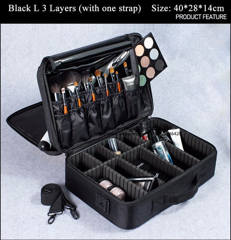 New 2016 High Quality Professional Empty Makeup Organizer Bolso Mujer Cosmetic Case Travel Large Capacity Storage Bag Suitcases-in Cosmetic Bags & Cases from Luggage & Bags on Aliexpress.com | Alibaba Group