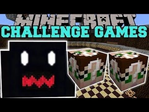 Popularmmos lucky block mod the thing challenge games - Pat and jen lucky block challenge games ...