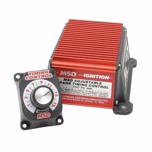 Ignition Timing Controller Spark Retard Race Track Street Car Truck NOS Adjusts #MSD